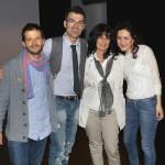 Con Marco, Chiara, Alessandra