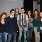 Con Stefania, Gabriele, Luca, Laura, Sally, Gaia